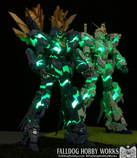 RG Unicorn Gundam 02 Banshee Norn (Lighting Model) 3 by Judson Weinsheimer