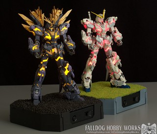 RG Unicorn Gundam 02 Banshee Norn (Lighting Model) 1 by Judson Weinsheimer