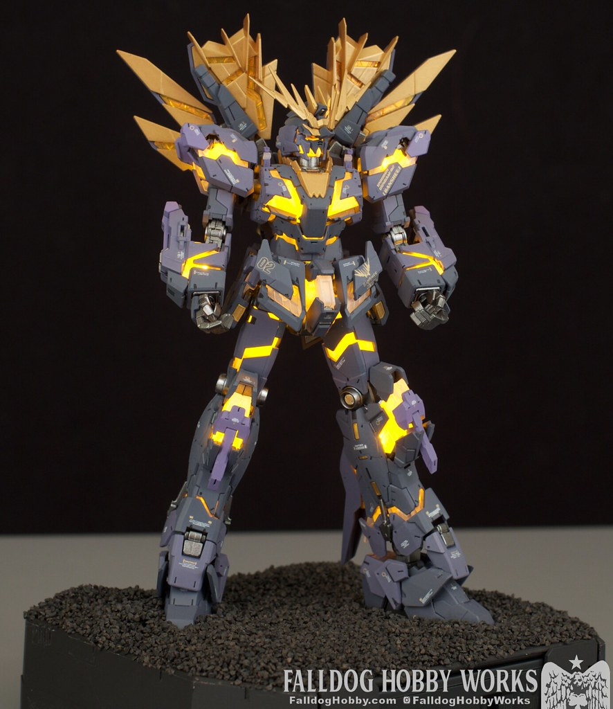 RG Unicorn Gundam 02 Banshee Norn (Lighting Model) 18 by Judson Weinsheimer