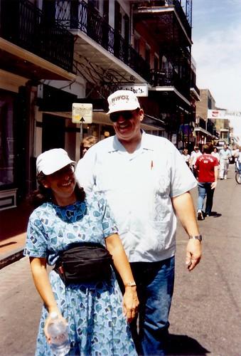 French Quarter Festival 1993 - Bourbon Street