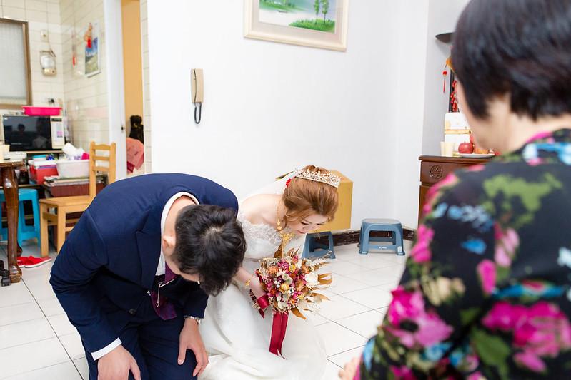 [婚攝] 宏哲 & 靜瑩 自宅拍攝 | 迎娶純儀式 | 婚禮紀錄