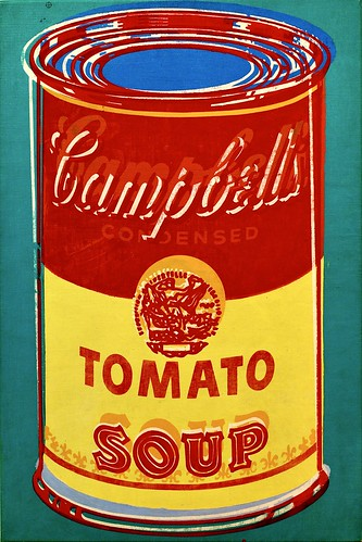 Campbell'Soup (1965) Andy Warhol (1928-1967)