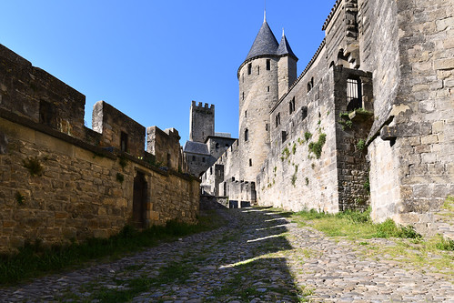 France - Occitanie - la Cité de Carcassonne