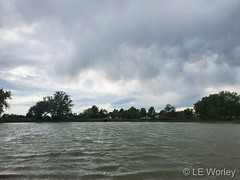 June 4, 2020 - Cool clouds. (LE Worley)