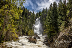 June 2, 2020 - Fish River Falls in Steamboat Springs. (Tony's Takes)