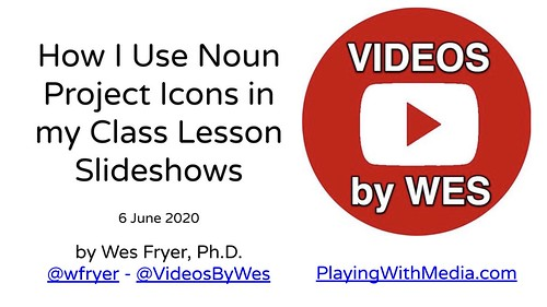 How I Use Noun Project Icons in my Class by Wesley Fryer, on Flickr