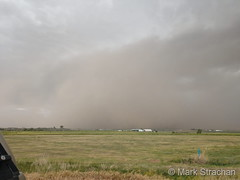 June 6, 2020 - Dust on the plains from the derecho.  (Mark Strachan)