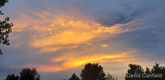 June 5, 2020 - A fine sunset. (David Canfield)