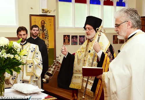 Archpastoral Visit from His Eminence Archbishop Elpidophoros of America