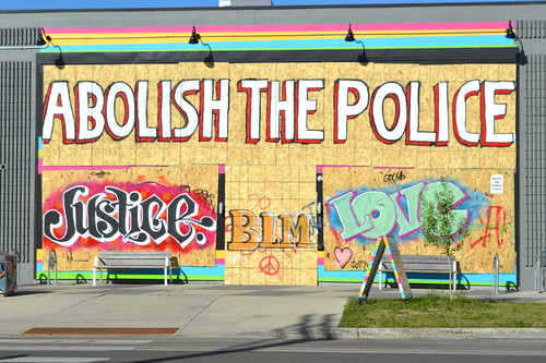 Street art, George Floyd protest, Minne by iamrenny, on Flickr