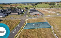 Lot 337, 3 Hillston Circuit, Gregory Hills NSW