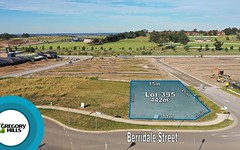 Lot 395, 1 Berridale Street, Gregory Hills NSW