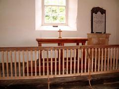 Photo of Bayvil , Pembrokeshire, St Andrew, altar rails