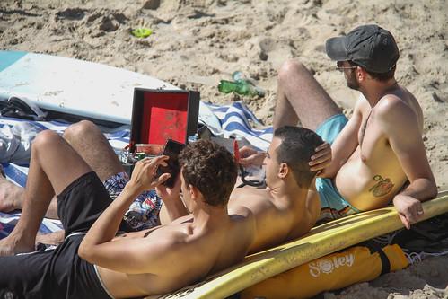 Tel Aviv Beach after first wave of Coronavirus