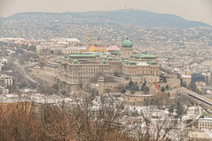 Views of Budapest from on the Gellért Hill - Hungary