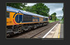 Wellingborough empties returns and RTC 37 Test Train along the Hope Valley Line - 6424