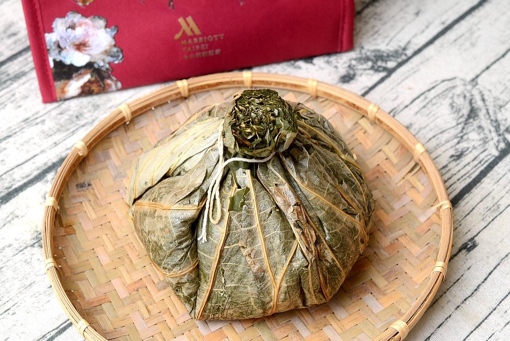 台北萬豪酒店 黃金傳香福蹄粽