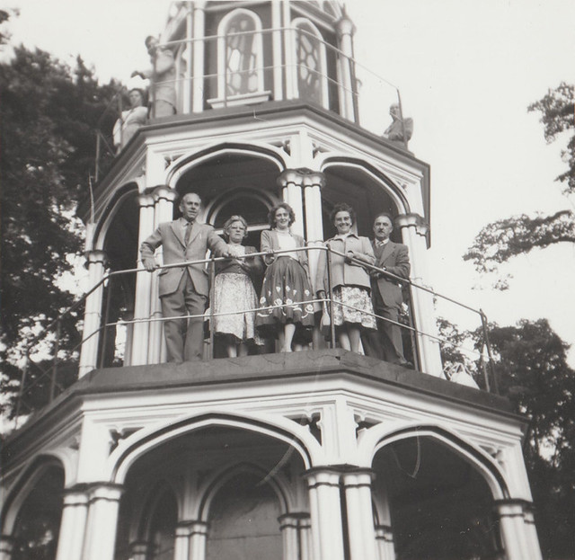 Guests on the Propect Tower in 1959