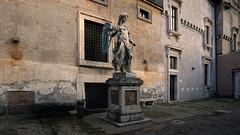 Raffaello da Montelupo, Saint Michael, c. 1544, Castel Sant'Angelo (Mausoleum of Hadrian)