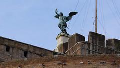 Peter Anton Verschaffelt, Saint Michael, 1752, Castel Sant'Angelo (Mausoleum of Hadrian)