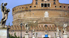 Castel Sant'Angelo from the bridge