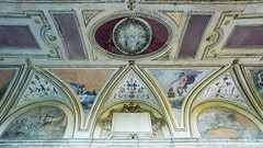 Grotesques, exterior loggia, Castel Sant'Angelo (Mausoleum of Hadrian)