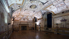 Room of Apollo with 16th century grotesques, Castel Sant'Angelo (Mausoleum of Hadrian)