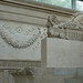Ara Pacis Augustae, garlands and side of altar with lion-griffin and relief depicting six vestals virgins flanked by two men