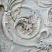 Ara Pacis Augustae, scrolling acanthus relief detail