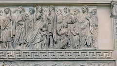 Ara Pacis Augustae, Family of Augustus, procession (south)