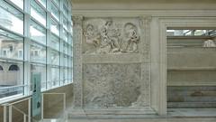 Ara Pacis Augustae, Tellus (or Pax or Venus) panel