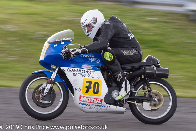 CRMC Pembrey  Race 29 Classic 500, Over 55 & 500c Goldstars