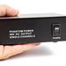 Phantom Power Microphone adapter box in the hand