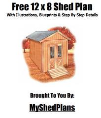 12x8  Free Shed Plan PDF