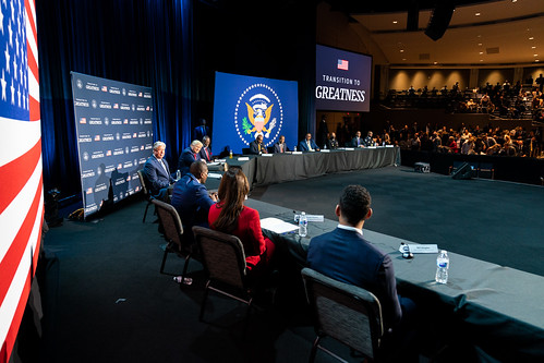 President Trump Attends a Roundtable on by The White House, on Flickr