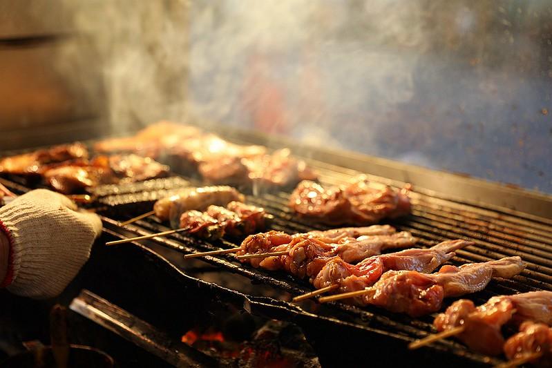 阿泰碳烤自強市場燒烤09