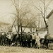 Michigan City Life Boat Crew at Flood, March 30, 1913 - Peru, Indiana