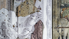 Mantegna, St James led to his Execution, detail