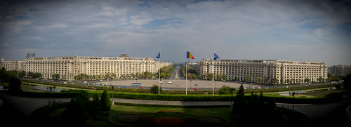 View from Ceausescus Palace, Bukarest