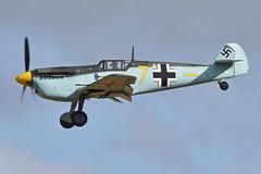 Photo of Hispano HA.1112M1L Buchon 'Yellow 7' (G-AWHM)