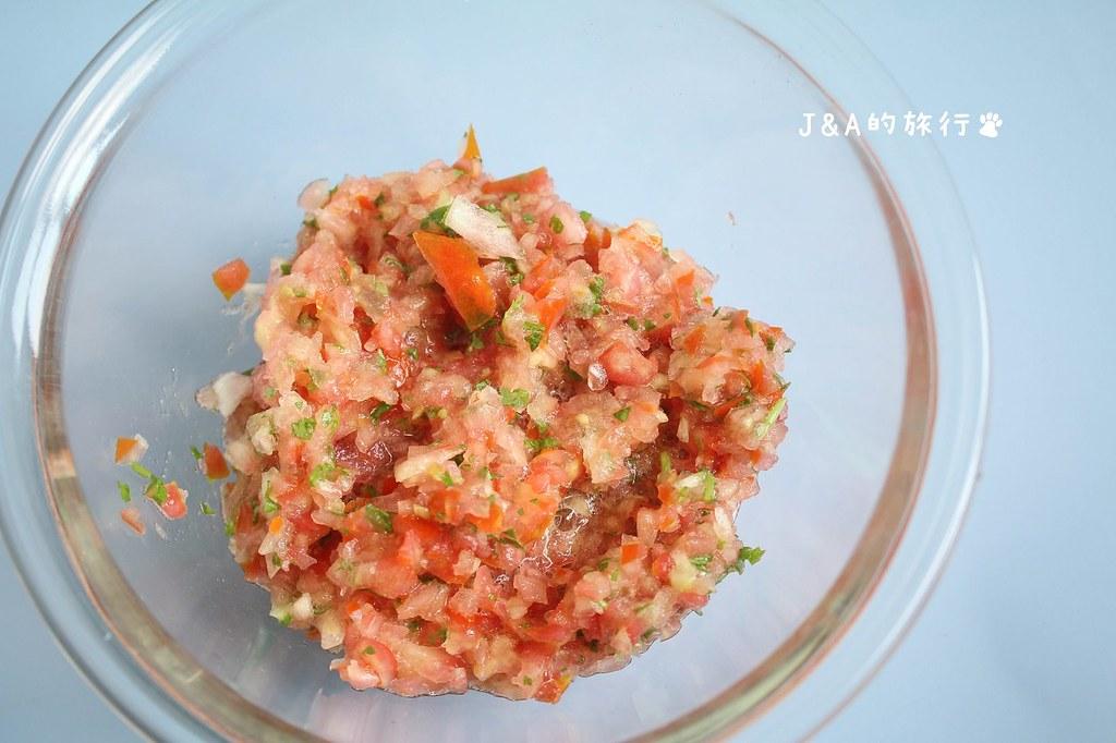 【食譜】莎莎醬 萬用莎莎醬,搭配海鮮、各種肉類都很適合 @J&A的旅行