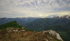 Samegrelo Planned National Park, view from the top of Mountain Kvira, Samegrelo-Zemo Svaneti, Georgia