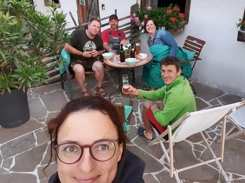 Ein Selfie mit unseren alten Freuden