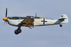 Photo of Hispano HA.1112M1L Buchon 'Yellow 10' (G-AWHK)
