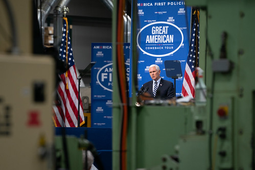 Vice President Pence in Pennsylvania by The White House, on Flickr