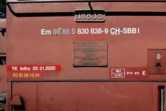 Buchs SG - Em 3/3 18838
