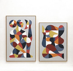 """""""L'Homme & le Mirage"""" & """"La Muse & Le Poête"""""""