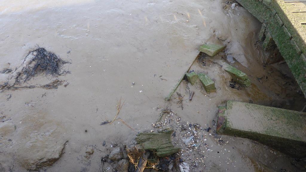 Mud at St Annes, Lancashire
