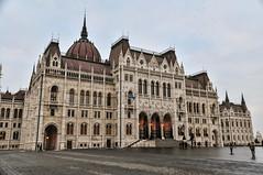 Parliament Building and square - Budapest, Hungary