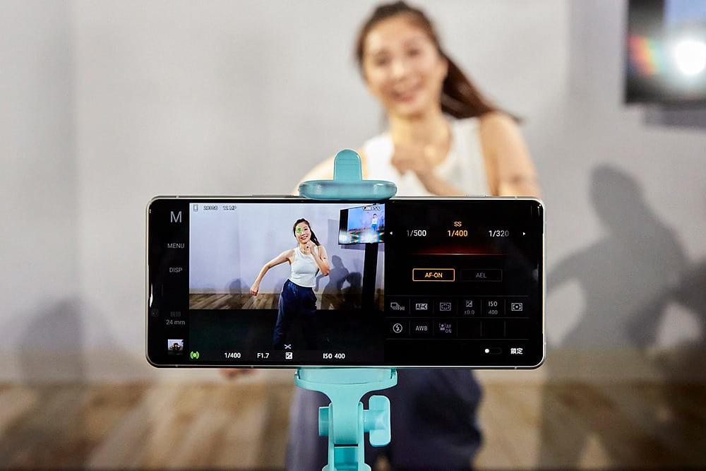 圖說四、Xperia-1-II為智慧手機界全球首創每秒高達20張高速連拍,搭配每秒60次自動對焦及自動曝光AF/AE追蹤計算
